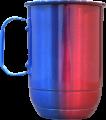 Azul e vermelha